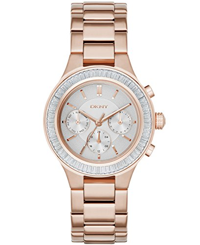 DKNY Women's NY2396 CHAMBERS Rose Gold Watch