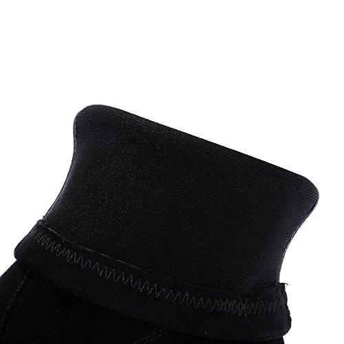 Classici black di Tacchi Martin Serie Inverno WSXY5007 KJJDE Donna Retrò Stivali KF8xv7q7Rw