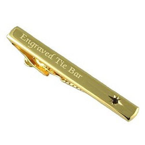 Con rubino, in oro e cristalli, colore: rosso con Clip per cravatta, cravatta plus Select personalizzabile con confezione regalo