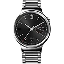 "Huawei Watch Classic - Smartwatch Android (pantalla 1.4"", 4 GB, 512 MB RAM), correa de acero, color plateado"