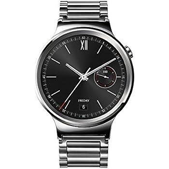 "Huawei Watch Classic - Smartwatch Android (pantalla 1.4"", 4 GB, 512 MB RAM), correa de acero, color plateado"