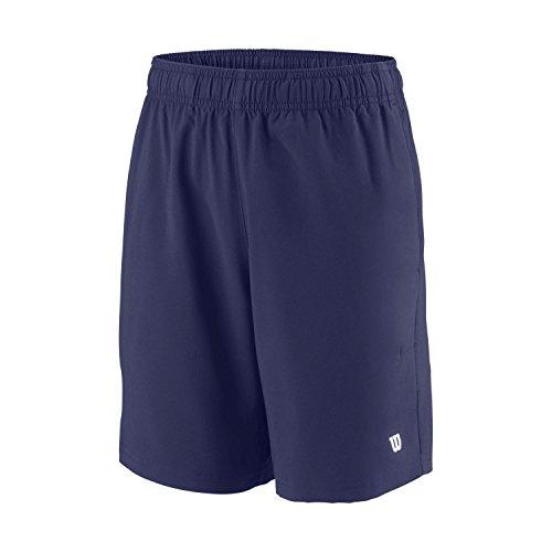 Wilson B Team Jungen 7 Shorts, Blau, M, WRA767403MD