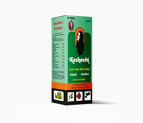 Dr.Raos Keshovin Ayurvedic Herbal Hair Oil(100ml)  available at amazon for Rs.125