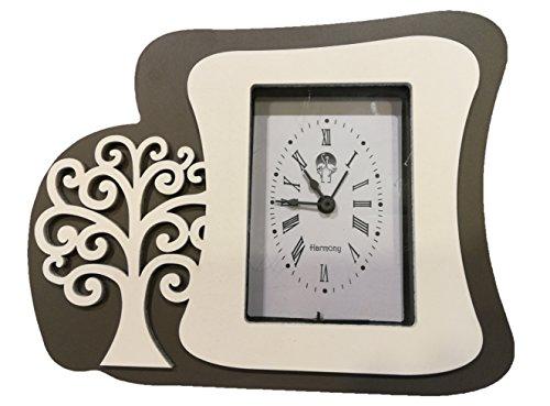 L'angolo barletta bomboniere utili matrimonio comunione orologio moderno albero della vita legno