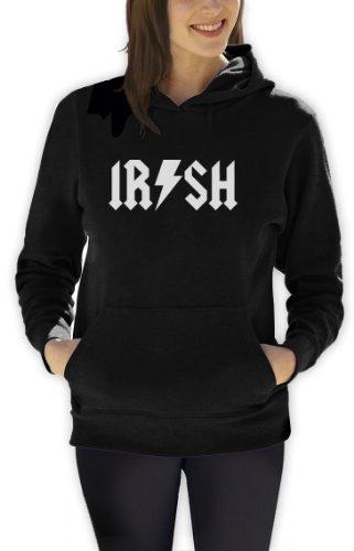 Green Turtle T-Shirts Irish metal Frauen Schwarz X-Large Kapuzenpullover Hoodie -