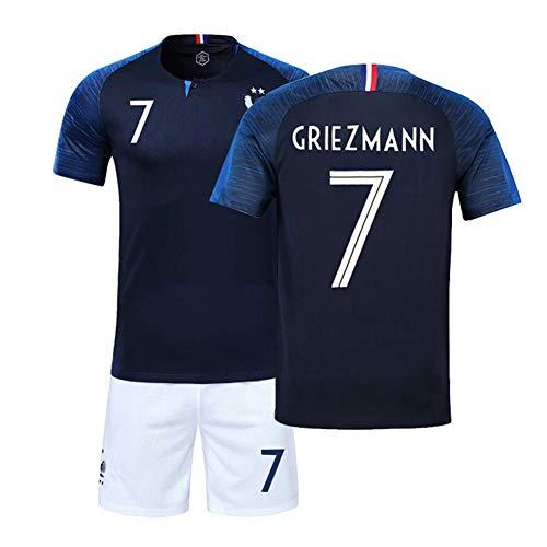 LJP FFF - Juego Camiseta fútbol Copa Mundo Dos Estrellas