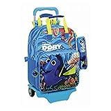 Walt Disney Findet Dorie Nemo Dory, Rucksack mit Trolley mit Federmäppchen (S160), blau, 40 x 28 x 13 cm