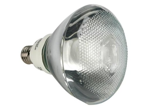 VELLEMAN - LAE1F3J PAR38 Energiesparlampe, Spot Typ, E27 Fassung, 2700 K, 15 W, 240 V 143813 - Par38 Fassung