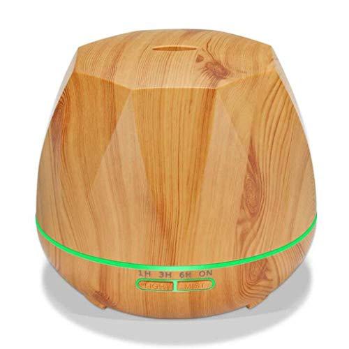 SOMESUN Mini Hölzern Ultraschall Luftbefeuchter 500ML Hohe Kapazität USB Schönheit Gesicht Sauberer Kind Schlafzimmer Gesund Humidifier Auto Hotel Büro Aroma Diffuser Zerstäuber - Luft-reiniger Ofen