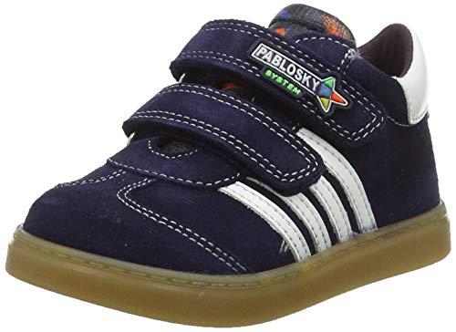 Pablosky 064236, Zapatillas de Estar por casa para Bebés, Azul Azul Azul, 21 EU