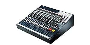 Soundcraft FX16ii Live Sound Multi-Purpose Mixing Console with Lexicon Effect, 16 Channel Frame