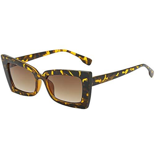 Dorical Retro Sonnenbrille Für Unisex Herren und Damen Mehrfarbig Fashion Vintage Sonnenbrille/Frauen Männer Mode Platz Klassisch Elegant Sonnenbrille Brille Promo