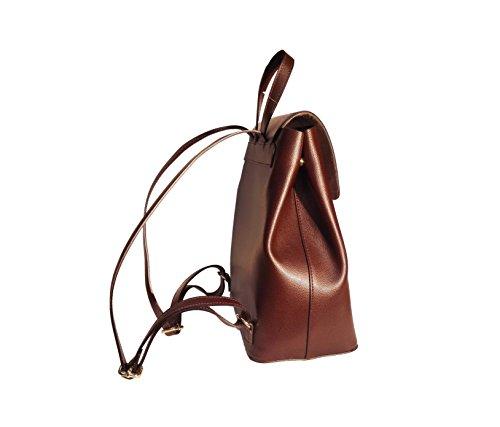 CatInBag , Sac à main porté au dos pour femme marron