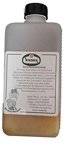 Invertzuckersirup 78,8 %ig, 500 g Zum Süßen von Likören und Spirituosen.