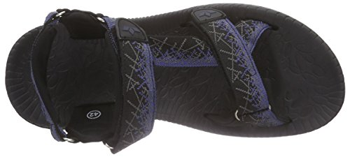 Lico - Samoa V, Sandali da Arrampicata Uomo Nero (Schwarz (schwarz/marine))