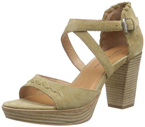 Marc O'PoloHigh Heel Sandal - Sandali a Punta Aperta Donna , Beige (Beige (beige 130)), 37 1/3