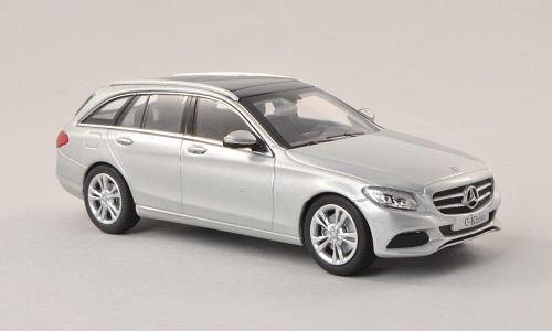 Mercedes C-Klasse T-Modell (S205), silber, 2014, Modellauto, Fertigmodell, I-Norev 1:43