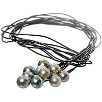 Perlencollier Wild Thing - schwarz
