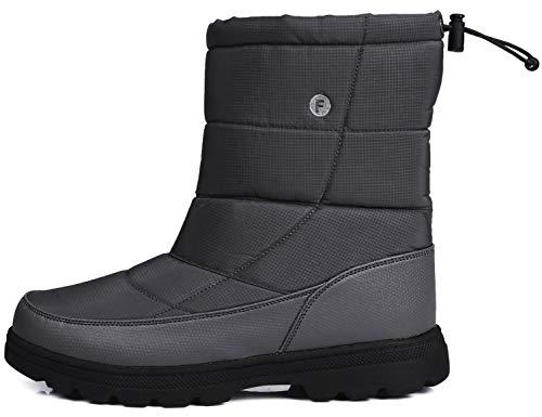 SINOES Herren 018 Klassische Stiefeletten Bootschuhe Madeline Boots Kurzschaft Stiefel Grau 43 EU