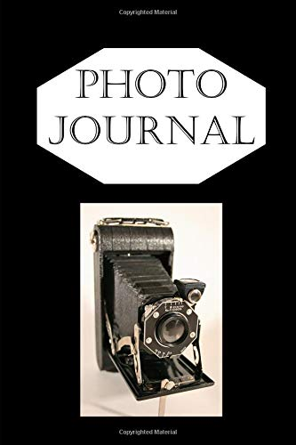 Retro 620 Folding Film Camera Journal: For Photographers and Writers: Blank Lined Paper Notebook Vintage Folding Camera