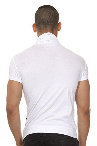 FIYASKO T-Shirt weiss/grau