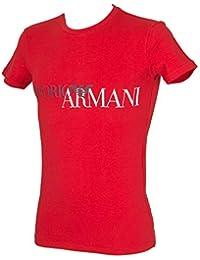 Emporio Armani T-Shirt Camisa Cuello Redondo Hombre Manga Breve ArtãCulo  111035 9P516 f2b510ab1c4b2