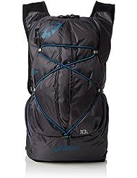 asics Lightweight Running Backpack - Mochila de acampada y senderismo, color gris oscuro / azul mosaico, talla 1