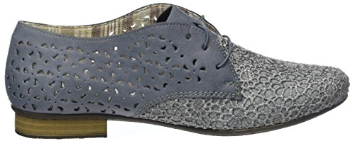 Rieker 51932, Scarpe Stringate Donna Blu (Jeans/adria / 14)