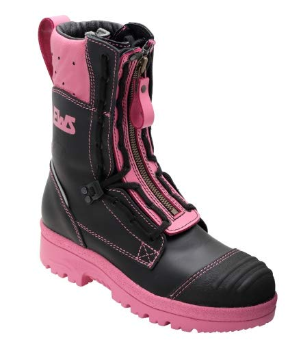 feuerwehrstiefel pink EWS 92053 Feuerwehr Stiefel Pink Fire Stiefel Gr. 38 - Feuerwehrstiefel - Motorrad Schuhe