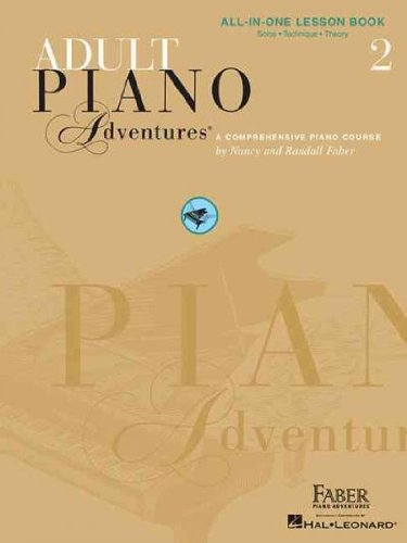 (ADULT PIANO ADVENTURES ALL-IN-ONE LESSON BOOK 2: A COMPREHENSIVE PIANO COURSE) BY Paperback (Author) Paperback Published on (01 , 2003)