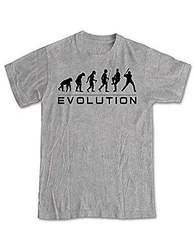 Evolution of a Baseball Player T-Shirt - Sport Grey (L)