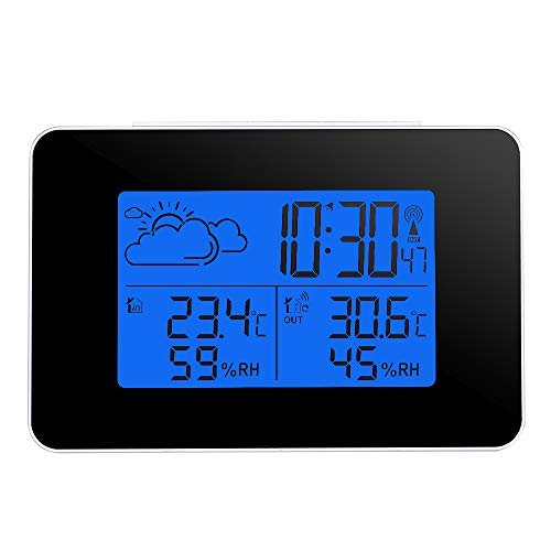 Humidity Hygrometer - Digital Thermometer Hygrometer Electronic Indoor Outdoor Clock Lcd Temperature Humidity Meter - Dollars Easy Project Night Ceiling That Quiet Green Cube Bell Play Outlet Du Sharp Electronics Outlet