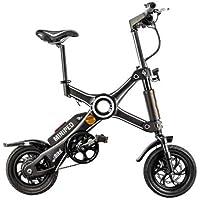 SmartR Bicicleta eléctrica plegable, Compact 25 ...
