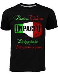 Impacto - Camiseta Mexico, Talla: L