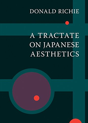 A Tractate on Japanese Aesthetics por Donald Richie