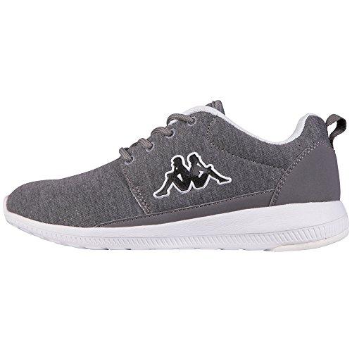 Kappa SPEED II JERSEY, Unisex-Erwachsene Sneakers, Grau (1310 anthra/white), 40 EU (6.5 Erwachsene UK)