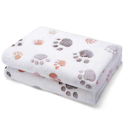 Produktbild bei Amazon - Allisandro® Super Softe Warme und Weiche Decke für Haustier Hundedecke Katzendecke Fleece-Decke/Tier Schlafdeck Überwurf für Hundebett Sofa und Couch- Gr. 150x100cm , Beige