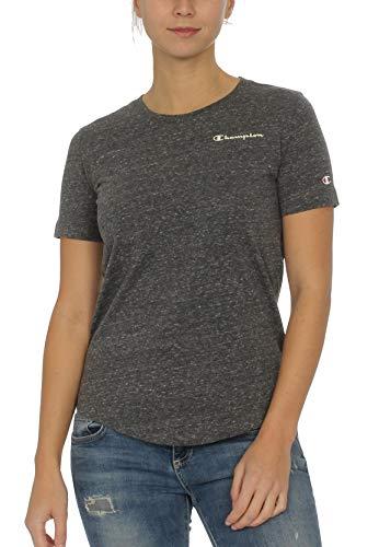 Champion T-Shirt Damen 112020 F19 EM514 NCOM Grau meliert, Größe:L