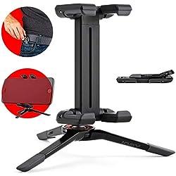 JOBY GripTight ONE Micro-trépied Super-compact pour Smartphones et iPhone - Support Repliable et Universel (Noir), JB01492-0WW