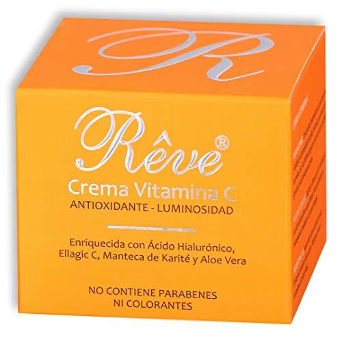 REVE Crema Facial Hialurónico Vitamina C - Antioxidante