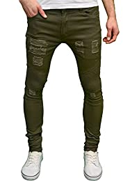 Amazon.co.uk: Green - Jeans / Men: Clothing