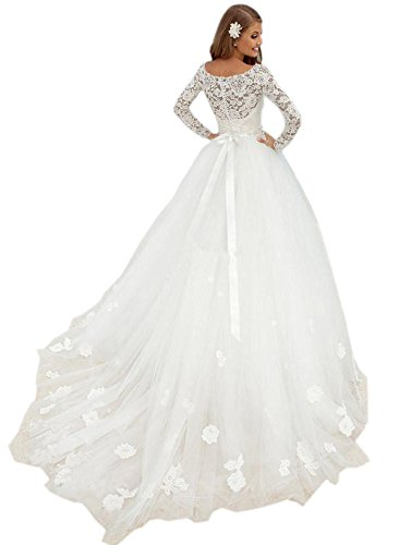 Ikerenwedding - Robe - ball gown - Femme Ivoire