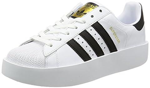Adidas Superstar Bold Damen Sneaker Schwarz, Weiß, *