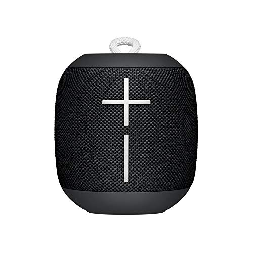 Ultimate Ears WONDERBOOM - Altavoz Bluetooth impermeable con conexión, Negro