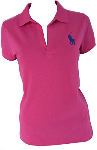 Ralph Lauren Volley Polo-Hemd Gr.M, Big Polo Pony, Fuschia (Ralph Lauren Design-stoff)