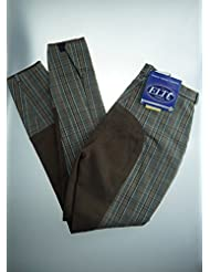 Lifestyle Breeches Check, Grey/Brown, talla 128