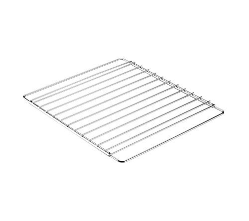Invero® Universal Edelstahl Verstellbarer Ausziehbarer Backofen Herd Rack Grill Kochen Tablett Regal - Anpassung von 39 cm bis 56 cm Geeignet für die meisten Öfen -