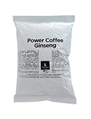 500g Ginseng Power Coffee, Powder Instant Coffee for Instant Preparation and Instant Energy, Made in Italy, Select Ingredients by Antico Eremo