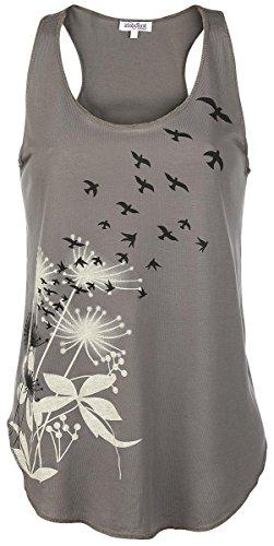 Innocent Flock Top Girl-Top braun Braun