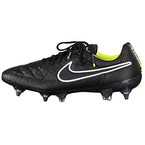 NIKE Tiempo Legend V FG Homme Chaussures de football Noir - Noir